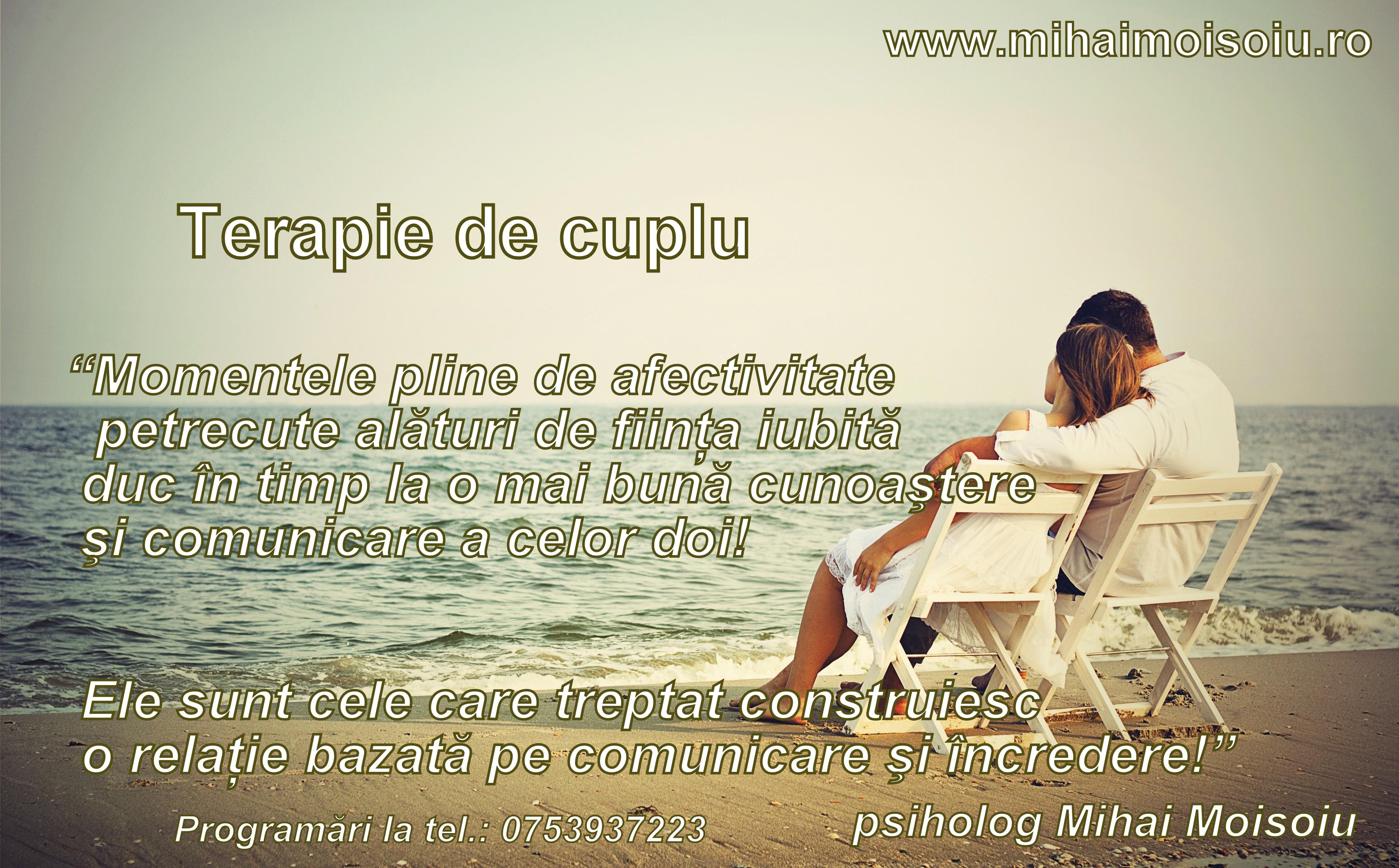 TERAPIE DE CUPLU (I)
