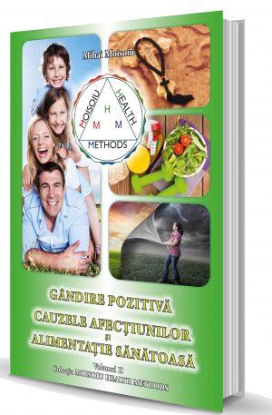 Carte Gândire pozitivă – Semnificațiile afecțiunilor – Alimentație sănătoasă