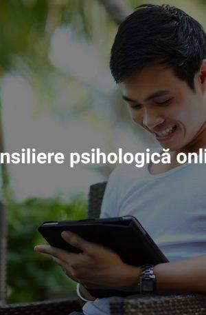 Consiliere psihologică online