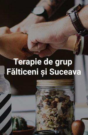Terapie de grup Fălticeni și Suceava