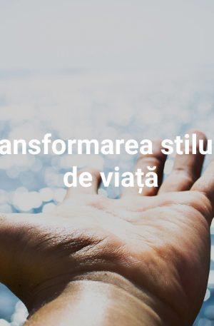 """""""Transformarea stilului de viață"""" – pachet de servicii online pentru 6 luni"""